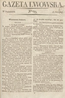 Gazeta Lwowska. 1823, nr60