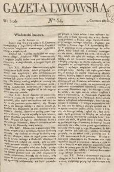 Gazeta Lwowska. 1823, nr64