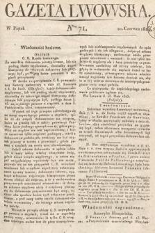 Gazeta Lwowska. 1823, nr71