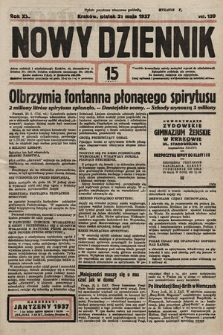 Nowy Dziennik. 1937, nr139