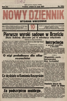 Nowy Dziennik (wydanie wieczorne). 1937, nr139a