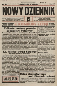 Nowy Dziennik. 1937, nr144