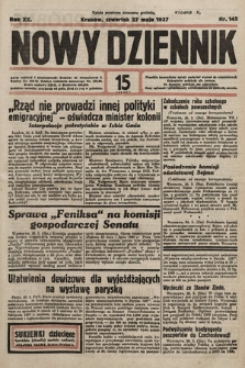 Nowy Dziennik. 1937, nr145