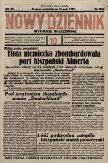 Nowy Dziennik (wydanie wieczorne). 1937, nr149a