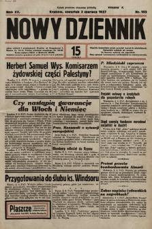 Nowy Dziennik. 1937, nr152