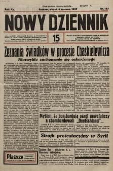 Nowy Dziennik. 1937, nr153