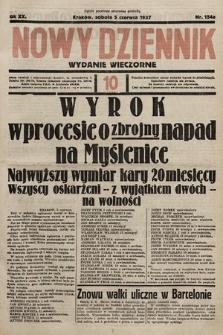 Nowy Dziennik (wydanie wieczorne). 1937, nr154a