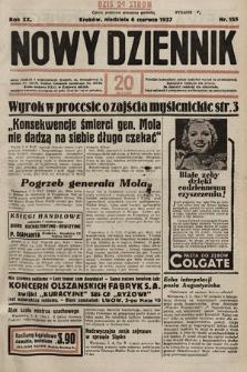 Nowy Dziennik. 1937, nr155