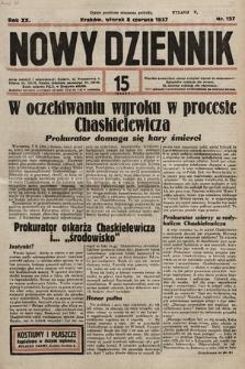 Nowy Dziennik. 1937, nr157