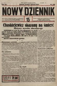 Nowy Dziennik. 1937, nr158