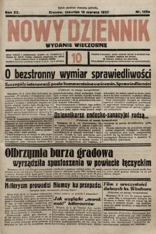 Nowy Dziennik (wydanie wieczorne). 1937, nr159a