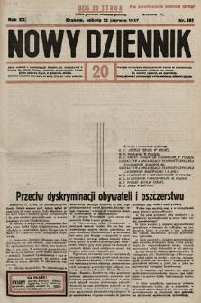 Nowy Dziennik. 1937, nr161