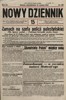 Nowy Dziennik. 1937, nr163