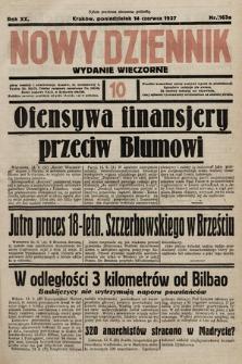 Nowy Dziennik (wydanie wieczorne). 1937, nr163a