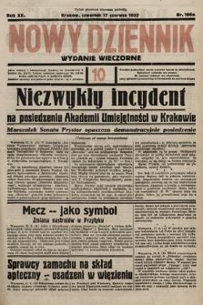 Nowy Dziennik (wydanie wieczorne). 1937, nr166a