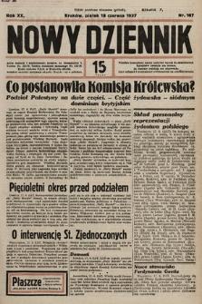 Nowy Dziennik. 1937, nr167