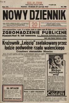 Nowy Dziennik. 1937, nr169