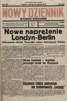 Nowy Dziennik (wydanie wieczorne). 1937, nr171a