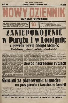 Nowy Dziennik (wydanie wieczorne). 1937, nr172a