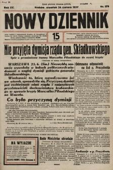 Nowy Dziennik. 1937, nr173