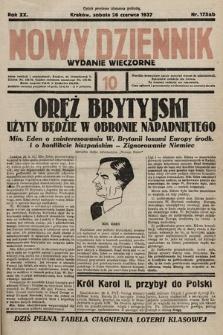 Nowy Dziennik (wydanie wieczorne). 1937, nr175ab