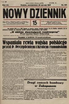 Nowy Dziennik. 1937, nr177