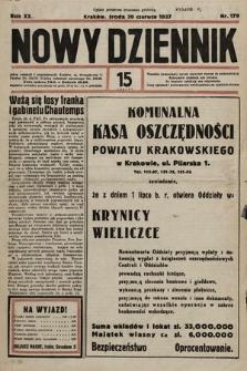 Nowy Dziennik. 1937, nr179