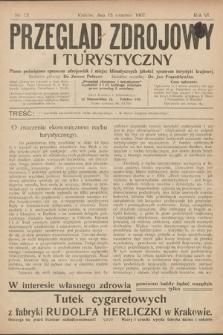 Przegląd Zdrojowy i Turystyczny : pismo poświęcone sprawom zdrojowisk i miejsc klimatycznych jakoteż sprawom turystyki krajowej. 1907, nr12