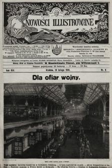 Nowości Illustrowane. 1916, nr8