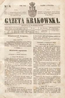 Gazeta Krakowska. 1844, nr4