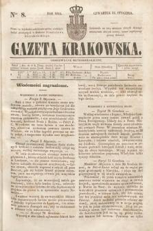 Gazeta Krakowska. 1844, nr8