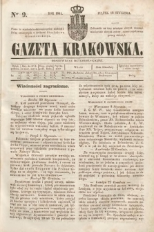 Gazeta Krakowska. 1844, nr9