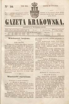 Gazeta Krakowska. 1844, nr10