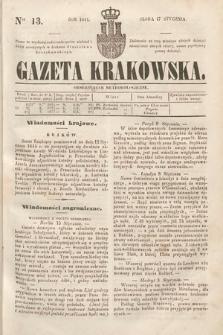 Gazeta Krakowska. 1844, nr13