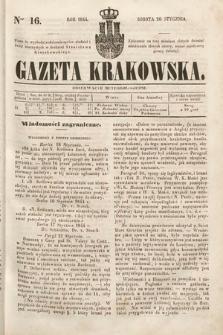 Gazeta Krakowska. 1844, nr16