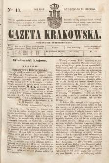 Gazeta Krakowska. 1844, nr17