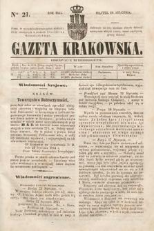 Gazeta Krakowska. 1844, nr21