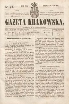 Gazeta Krakowska. 1844, nr24