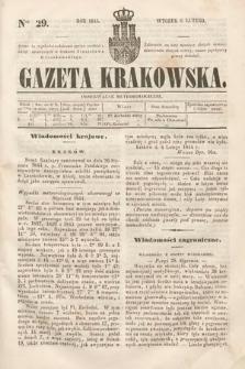 Gazeta Krakowska. 1844, nr29