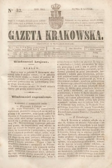 Gazeta Krakowska. 1844, nr32