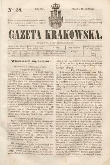Gazeta Krakowska. 1844, nr38