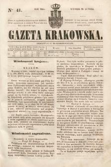 Gazeta Krakowska. 1844, nr41