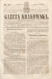 Gazeta Krakowska. 1844, nr42
