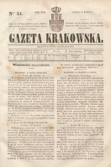 Gazeta Krakowska. 1844, nr51