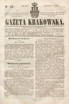 Gazeta Krakowska. 1844, nr55