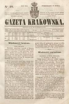 Gazeta Krakowska. 1844, nr58