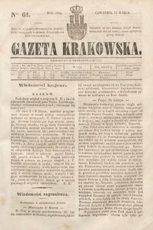 Gazeta Krakowska. 1844, nr61
