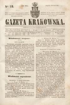 Gazeta Krakowska. 1844, nr73