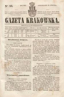 Gazeta Krakowska. 1844, nr86