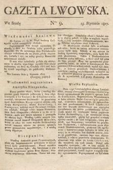 Gazeta Lwowska. 1817, nr9